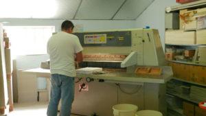 massicotage façonnage imprimerie reliplast